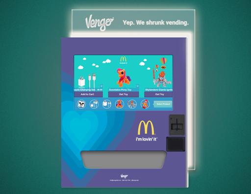 McDonalds Vengo Branding Concept