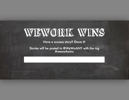 WeWork Vengo UI Concept