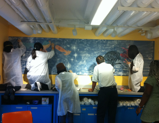 Wellesley College Science Center Mural Collaboration