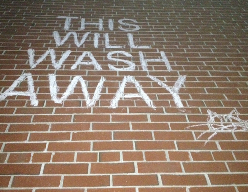 This Will Wash Away Street Art