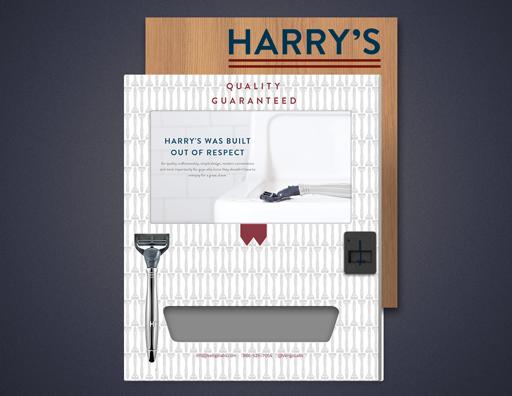 Harry's Razors Vengo Branding Concept