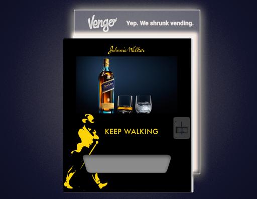 Johnnie Walker Vengo Branding Concept